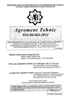 Agrement tehnic 016-06/464-2014